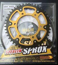 SUPERSPROX Corona Trasera Suzuki GSX-R 750 ,l1-l4,45 DIENTES ,480-45,Sigilo,Oro