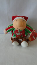 1991 Ziggy Christmas Hanger I Love You Stuff Toy With Tag #B502.