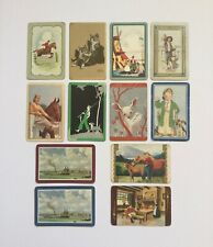 Vintage Bulk Lot Swap / Playing Cards x 12 Mixed Themes + 1 Coles Production