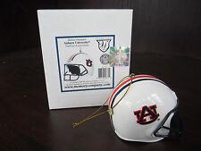AUBURN U Tigers Helmet Ornament NEW In Box CHRISTMAS mEMORY cOMPANY