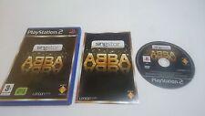 JUEGO COMPLETO ABBA SING STAR PLAYSTATION 2 PS2 PAL ESPAÑA.