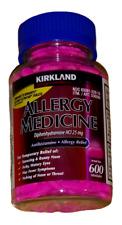 Kirkland Allergy Medicine 600 Tablets 25 mg...