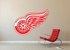 Detroit Red Wings NHL Hockey Wall Decal Decor For Home Car Laptop Sports