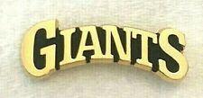 San Francisco SF Giants Gold Plated Arc Logo Pin