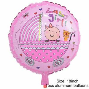 Baby Shower Balloon Boy Or Girl Bubble Bear Large Decorations Party Garden