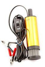 Pompe de carburant diesel van flotteur voiture 12V eau submersible ravitaillement transfert pompe à huile