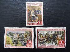 Sowjetunion Mi 1756-1758 , Sc 1753-1755 , Geburtstag von W. Lenin , Gestempelt