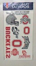 OHIO STATE BUCKEYES TEMPORARY TATTOOS FREE SHIPPING