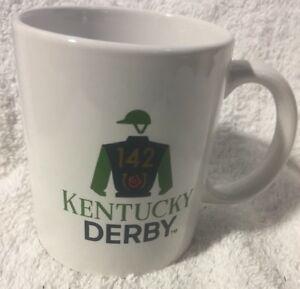 NWOB Kentucky Derby 142 Ceramic Coffee Mug Cup Churchill Downs  Licensed
