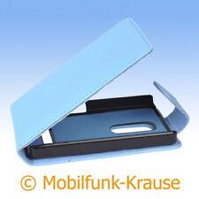 Flip Case Etui Handytasche Tasche Hülle f. Nokia Asha 210 (Türkis)