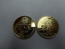 CHALLENGE COIN AMERICAN LEGION 100 YEARS CENTENNIAL COLLECTION 1919-2019 GOLD CO