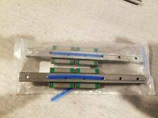 HIWIN Linear Guide Rail 2pcs MGNR12H (17cm) + 2pcs MGN12CH