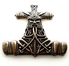 Nemesis Now Viking Mjölnir Thor's Hammer Wall Plaque 31cm ornament Bronze Effect