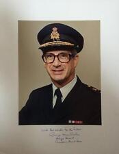 Canadian Major General George McFarlane- Signed Matte Board