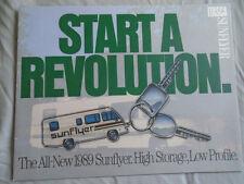 Winnebago Itasca Sunflyer Motorhome brochure 1989
