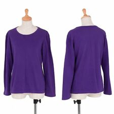 agnes b. Cotton long sleeved basic top Size 2(K-33197)