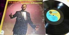 RARE 1958 TOMMY EDWARDS IT'S ALL IN THE GAME VG-VG+ MGM SE3732 ROCK BLUES R&B