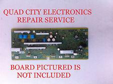 REPAIR SERVICE Panasonic TNPA5105AB, AD, AC SC Board for TC-P50S2 Etc.