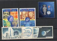 Francia - Lotto 5 francobolli MNH - alto valore catalogo