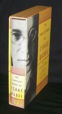 Complete Works of Isaac Babel 2002 1st Ed Slipcase HCDJ Cynthia Ozick Red Army