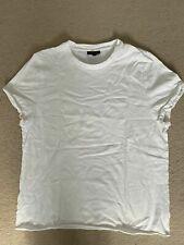 Topshop Pure White Stylish Short Sleeve Maternity T-shirt Size 16 100% Cotton