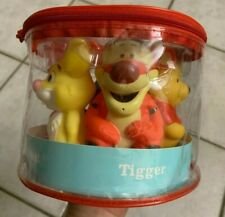 Disney Baby 5 Winnie The Pooh Baby Bath Squirters NEW Zip Up Case
