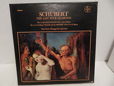 Schubert Hungarian Quartet The Last Quartets Quartettsatz Death And Maiden 3 LP