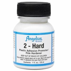 Angelus 2-HARD 1oz Film Hardener Plastic Adhesion Promoter