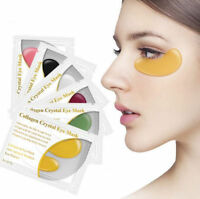 10 Prs Collagen Crystal Gel Eye Mask Dark Circle Anti Ageing Wrinkle Firming Bag