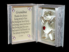 Cellini Gifts Inspirational Poem Bear Box Grandma Special Gift Unique  #4