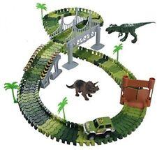 Spielzeug Auto Rennbahn Nuheby Kinder Dinosaurier Autorennbahn Dino  B-WARE