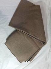 """WOOLRICH USA Warm Wool Blend Blanket Brown Tan Throw 50""""x60"""" NWOT NICE"""