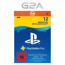 PlayStation PSN plus 365 dias de 12 meses a 1 año pertenencia código ps3 ps4 [es]