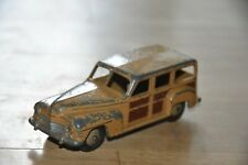 !!   DINKY TOYS 344 Plymouth Estate Car Car Woody mit Patina 1:43 !!
