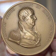 CAPTAIN JACOB JONES NAVY WAR 1812 HERO BRONZE MEDAL