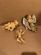 Vintage Christmas Angels Depose Italy Lot Of 3