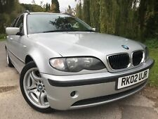 BMW 320i SE Automatic Tourer 2002 Estate FSH With Winter Tyres And Wheels