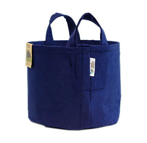 Root Pouch NAVY (30L - 7 gallons) Géotextile Smart grow Pot déco container