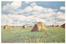 BR42979 Auvers sur Oise la plaine au dela du chateau paint peintures france