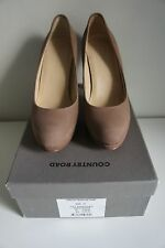 Women's brown nubuck shoes size 37 Country Road