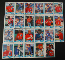 1990 Fleer Montreal Expos Team Set of 23 Baseball Cards Missing 4 Cards