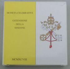 Vatikan / Vatican State 500 Lire 1998 Ag / Silber p292 st / bu in Schatulle
