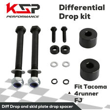 "Skid Plate & Diff Drop Kit Fit for 2''-4"" Lift fit Tacoma 4runner FJ Cruise 4WD"