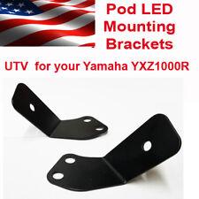 Pod Light Mount Brackets Yamaha YXZ1000R UTV Left & Right Side