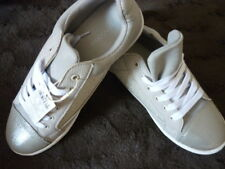 Monsoon Shea Silver Grey & Champagne Trainers Shoes. UK 7 EUR 40 US 9.