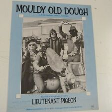 song sheet  MOULDY OLD DOUGH Lieutnant Pigeon 1972