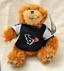 HOUSTON TEXANS football TEDDY BEAR stuffed animal plush NFL licensed jersey