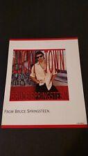"BRUCE SPRINGSTEEN  ""LUCKY TOWN""  (1992) RARE ORIGINAL PRINT PROMO POSTER AD"