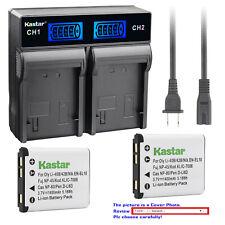 Kastar Battery LCD Rapid Charger for Kodak KLIC-7006 K7006 Kodak Easyshare M873