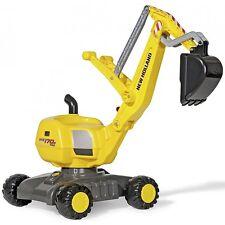 Rolly Toys New Holland WE170 PRO Bagger Kinderbagger Sandbagger gelb